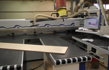 Ashley Martin CNC cutting machine