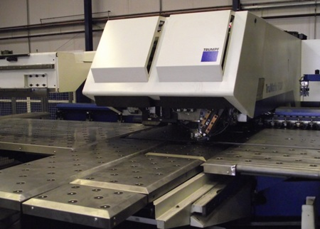 Hydram Radan Trumpf combination punch/laser